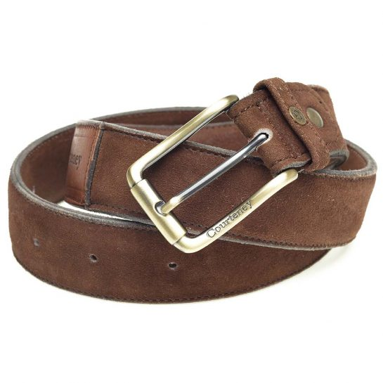 Belt-Brown-Suede