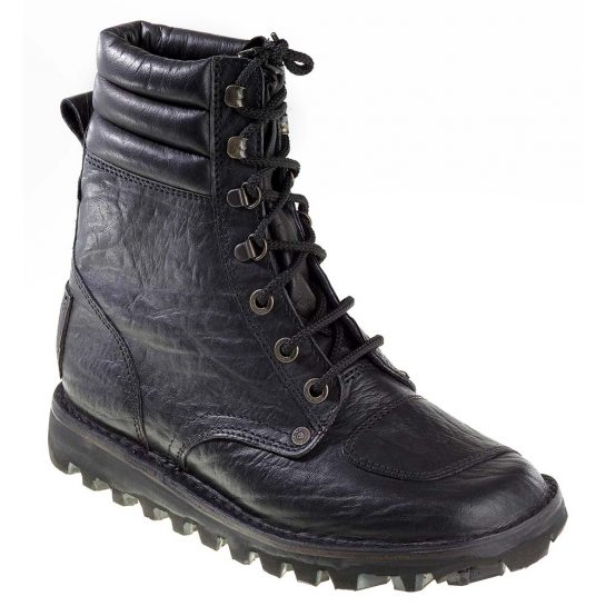 Courteney Magnum Boot in Black Leather