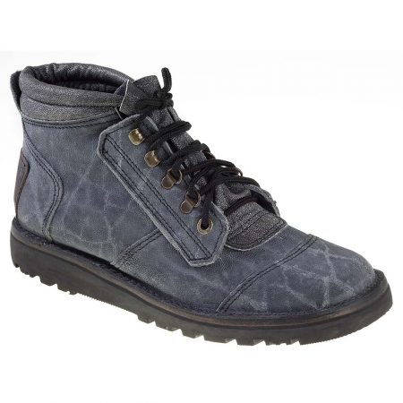 Courteney Safari Boot in Grey Elephant Leather