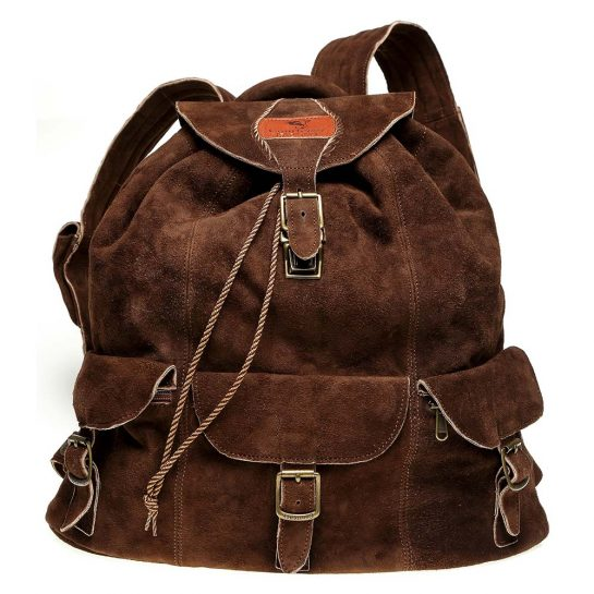 Haversack-Chocolate-Suede