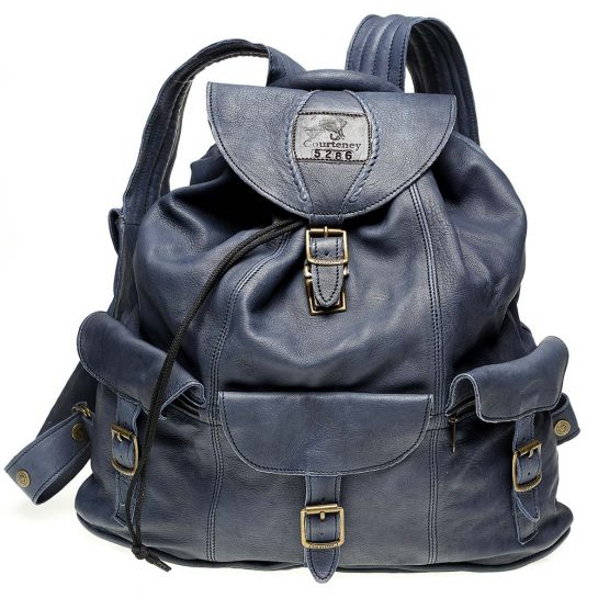 Haversack-Denim-Leather