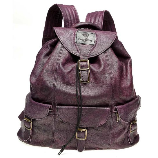 Haversack-Plum-Leather