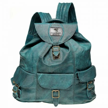 Haversack-Stonewash-Turquoise-Leather
