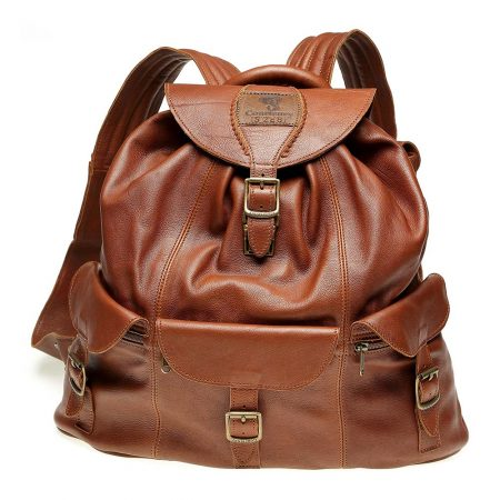 Haversack-Tan-Leather