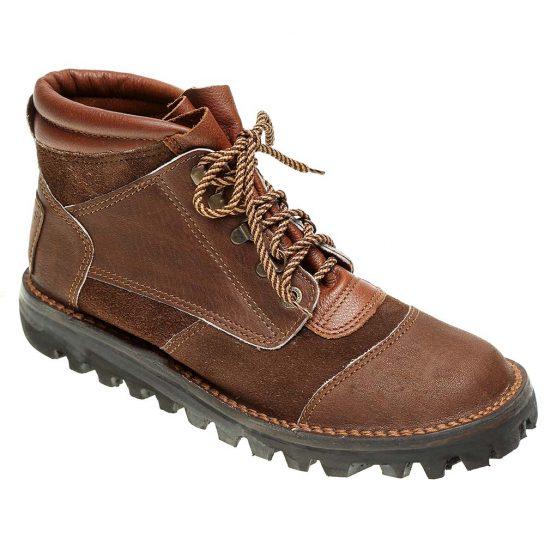 Courteney Impi Safari Boot in Brown Suede