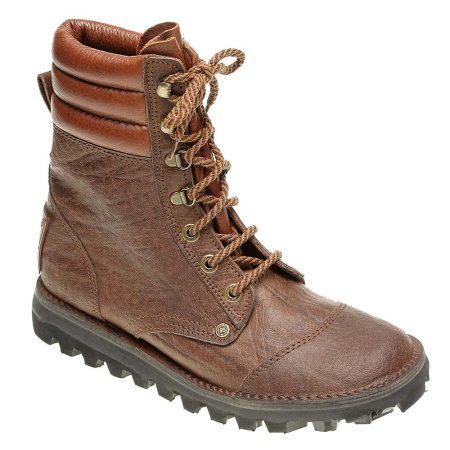 Courteney Patrol Safari Boot in Brown Leather