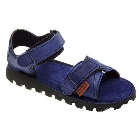 Sandal-Blue-Leather-Angle