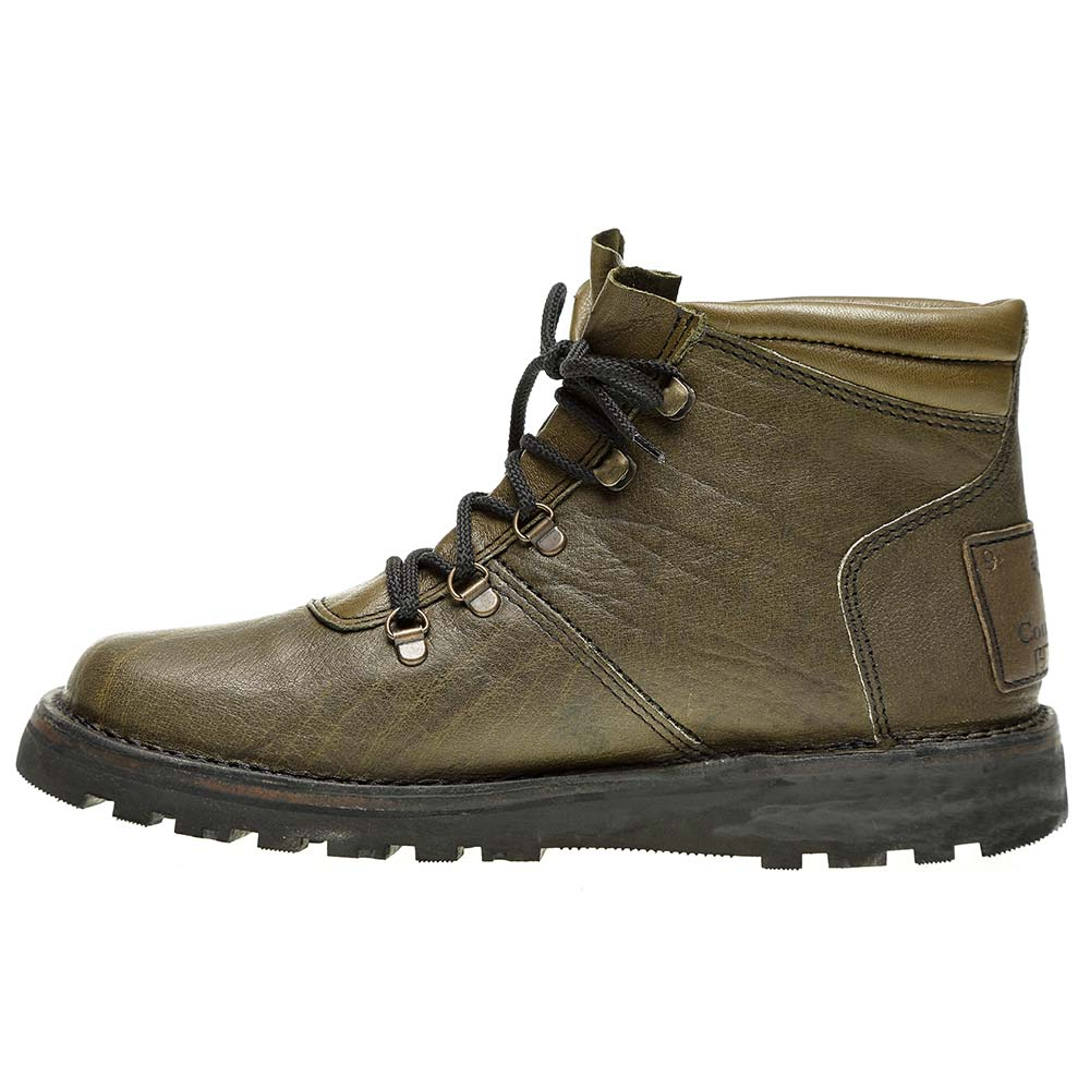 The Courteney Warrior in Olive Leather - Safari Boots ...